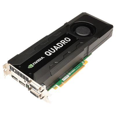 Видеокарта PNY 8Gb PCI-E nVidia Quadro K5200 GDDR5, 256 bit, 2*DVI, 2*DP, 2*DP to DVI-D (SL) Bulk VCQK5200BLK-1