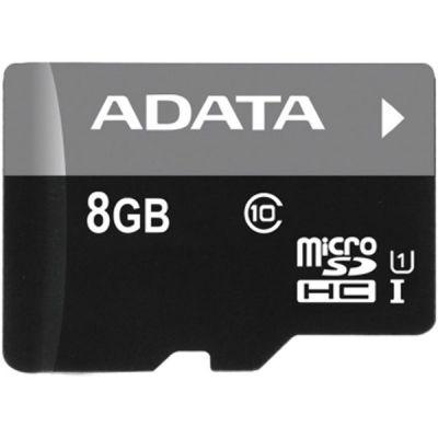 Карта памяти ADATA 8GB MicroSDHC class10 UHS-1 AUSDH8GUICL10-R