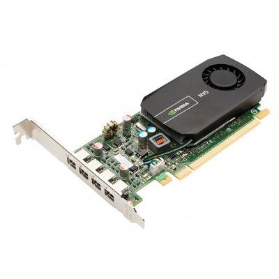 Видеокарта PNY 2Gb PCI-E nVidia NVS 510 DDR3, 128 bit, 4*mini DP, Retail VCNVS510DP-PB