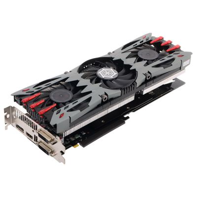 ���������� Inno3D 4Gb PCI-E GTX980 (i-Chill) X3 AIR BOSS c CUDA, GDDR5, 256 bit, HDCP, 2*DVI, HDMI, DP, 3*Fan, Retail C98V-2SDN-M5DSX