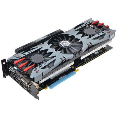 Видеокарта Inno3D 4Gb PCI-E GTX970 i-Chill X4 AIR BOSS Ultra c CUDA GDDR5, 256 bit, HDCP, 2*DVI, HDMI, DP, 3*Fan, Retail C97U-1SDN-M5DNX