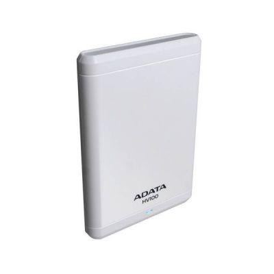 """Внешний жесткий диск ADATA 500 Gb HV100, 2,5"""" , USB 3.0, белый AHV100-500GU3-CWH"""