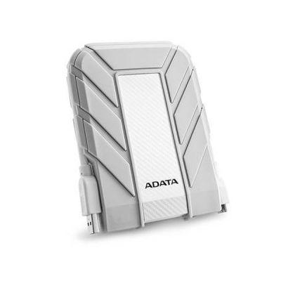 """Внешний жесткий диск ADATA 1 Tb HD710A, 2,5"""" , USB 3.0, прорезиненный, белый AHD710A-1TU3-CWH"""