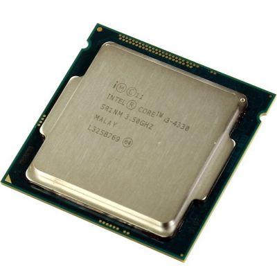 Процессор Intel Core i3-4330 3.5 GHz / 2core / SVGA HD Graphics 4600 / 0.5+4Mb / 54W / 5 GT / s LGA1150 OEM CM8064601482423SR1NM
