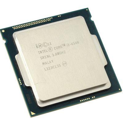 Процессор Intel Core i3-4340 3.6 GHz / 2core / SVGA HD Graphics 4600 / 0.5+4Mb / 54W / 5 GT / s LGA1150 OEM CM8064601482422SR1NL
