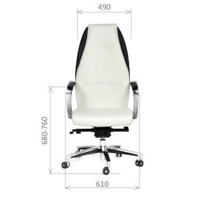 Офисное кресло Chairman Basic (белый/черный)