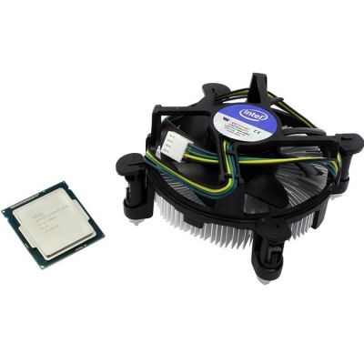 Процессор Intel Core i5-4590 3.3 GHz / 4core / SVGA HD Graphics 4600 / 1+6Mb / 84W / 5 GT / s LGA1150 BOX BX80646I54590SR1QJ