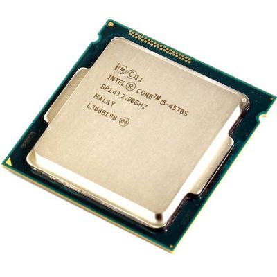 Процессор Intel Core i5-4570S 2.9 GHz / 4core / SVGA HD Graphics4600 / 1+6Mb / 65W / 5 GT / s LGA1150 OEM CM8064601465605SR14J