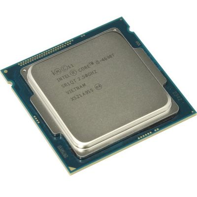 ��������� Intel Core i5-4690T 2.5 GHz / 4core / SVGA HD Graphics4600 / 1+6Mb / 45W / 5 GT / s LGA1150 OEM CM8064601561613SR1QT