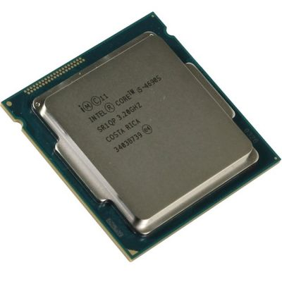Процессор Intel Core i5-4690S 3.2 GHz / 4core / SVGA HD Graphics 4600 / 1+6Mb / 65W / 5 GT / s LGA1150 OEM CM8064601561313SR1QP