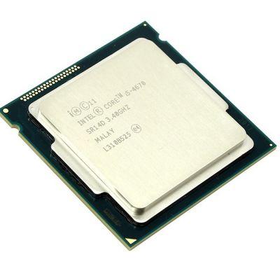 Процессор Intel Core i5-4670 3.4 GHz / 4core / SVGA HD Graphics 4600 / 1+6Mb / 84W / 5 GT / s LGA1150 OEM CM8064601464706SR14D