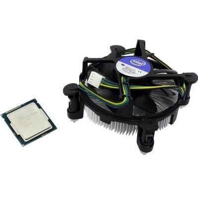 Процессор Intel Core i5-4670 3.4 GHz / 4core / SVGA HD Graphics 4600 / 1+6Mb / 84W / 5 GT / s LGA1150 BOX BX80646I54670SR14D