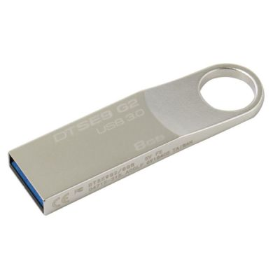 Флешка Kingston 8GB SE9 G2, USB 3.0, Металл DTSE9G2/8GB