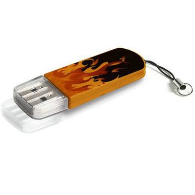 Флешка Verbatim 8GB Elements Edition, USB 2.0, Fire 98158