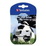 Флешка Verbatim 8GB Sport Edition, USB 2.0, Футбол 49880