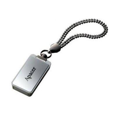 Флешка Apacer 16GB AH129, USB 2.0, алюминий, Серебристый AP16GAH129S-1