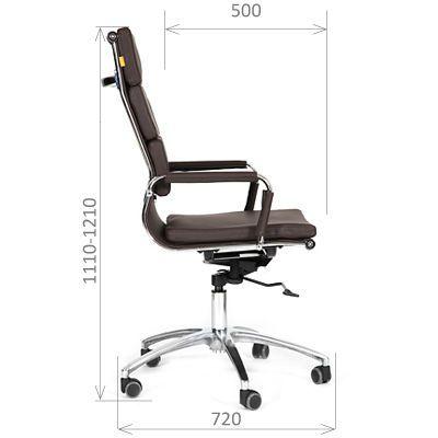 Офисное кресло Chairman 750 (коричневый)