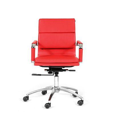 Офисное кресло Chairman 750M (красный)
