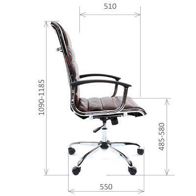Офисное кресло Chairman 760 (коричневый)