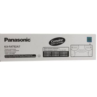 Тонер-картридж Panasonic Black/Черный (KX-FAT92A)