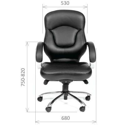 Офисное кресло Chairman 430 (черный)