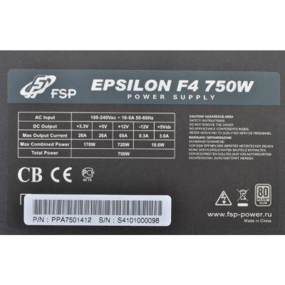 Блок питания FSP Epsilon F4 750W v.2.31