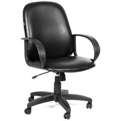 Офисное кресло Chairman 279M экокожа (черный)