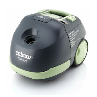 Пылесос Zelmer ZVC412KTRU серый/зеленый