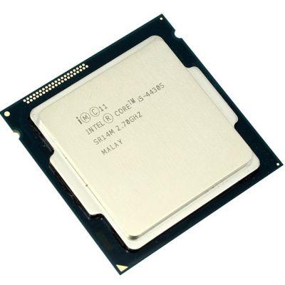 Процессор Intel Core i5-4430S 2.7 GHz / 4core / SVGA HD Graphics4600 / 1+6Mb / 65W / 5 GT / s LGA1150 OEM CM8064601465803SR14M