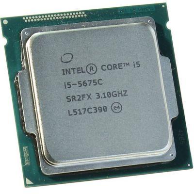 Процессор Intel Core i5-5675C 3.1 GHz / 4core / SVGA Iris Pro 6200 / 1+4Mb / 65W / 5 GT / s LGA1150 OEM CM8065802483201S R2FX