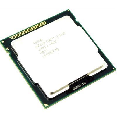 Процессор Intel Core i7-2600 3.4 GHz / 4core / SVGA HD Graphics 2000 / 1+8Mb / 95W / 5 GT / s LGA1155 OEM CM8062300834302SR00B