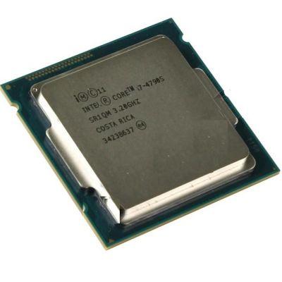 Процессор Intel Core i7-4790S 3.2 GHz / 4core / SVGA HD Graphics 4600 / 1+8Mb / 65W / 5 GT / s LGA1150 OEM CM8064601561014 SR1QM