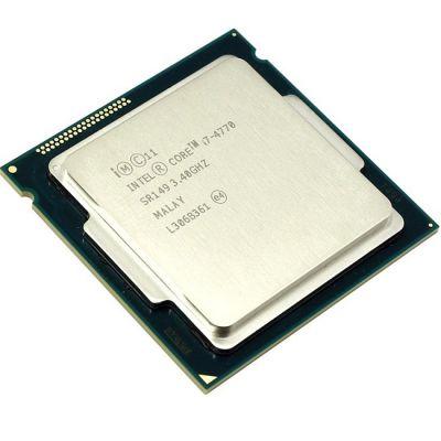 Процессор Intel Core i7-4770 3.4 GHz / 4core / SVGA HD Graphics 4600 / 1+8Mb / 84W / 5 GT / s LGA1150 OEM CM8064601464303SR149