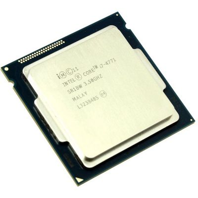 Процессор Intel Core i7-4771 3.5 GHz / 4core / SVGA HD Graphics 4600 / 1+8Mb / 84W / 5 GT / s LGA1150 OEM CM8064601464302SR1BW