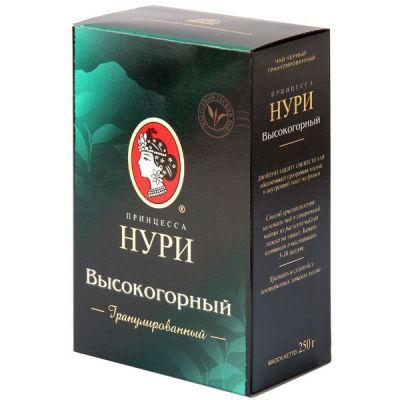 Чай Принцесса Нури Высокогорный 250г.чай гран.черн. 0289-24