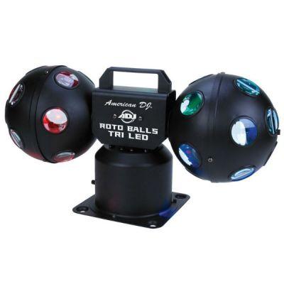 Adj Светодиодный дискофет Roto Balls TRI LED