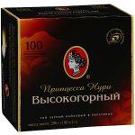 Чай Принцесса Нури Высокогорный (2гх100п) чай пак.б/я черн. 0292-24