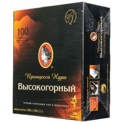 Чай Принцесса Нури Высокогорный (в пакетиках, 100х2г, черный) 0201-18