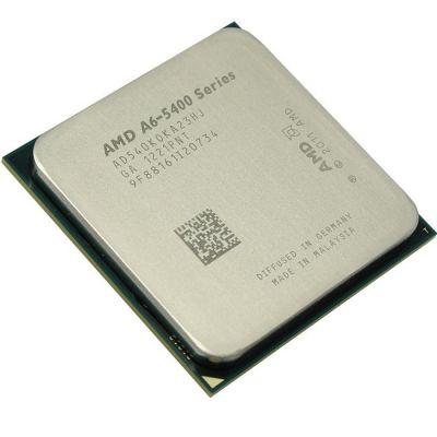 ��������� AMD A6 X2 5400K Socket-FM2 (3.6/5000/1Mb/Radeon HD 7540) OEM AD540KOKA23HJ