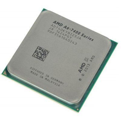 Процессор AMD A6 X2 7400K Socket-FM2+ (3.5/5000/1Mb/Radeon R5) Kaveri OEM AD740KYBI23JA