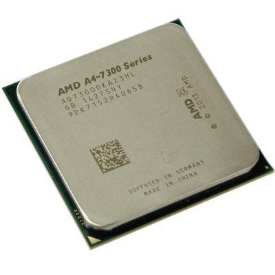 Процессор AMD A4 7300 Socket-FM2 (3.8GHz/5000MHz/1Mb/AMD Radeon HD 8470D) OEM AD7300OKA23HL