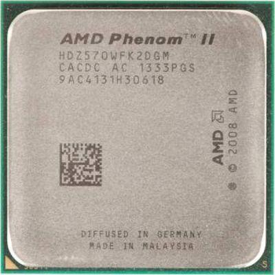 Процессор AMD Phenom II X2 570 AM3 (3.5GHz/4000MHz) OEM HDZ570WFK2DGM