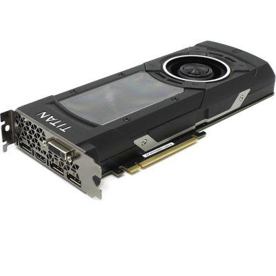 Видеокарта Gigabyte GeForce GTX TITAN X 1000Mhz PCI-E 3.0 12288Mb 7010Mhz 384 bit DVI HDMI HDCP GV-NTITANXD5-12GD-B