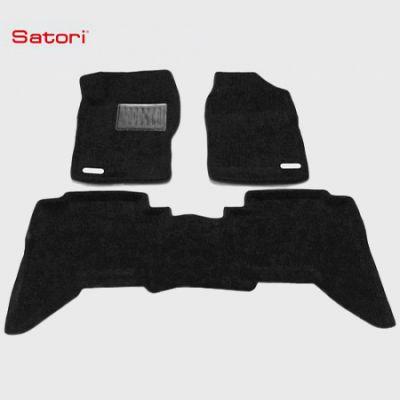 Satori Коврики салона текст.Nissan Pathfinder 2005-> Satori с бортиком черные SI 02-00110