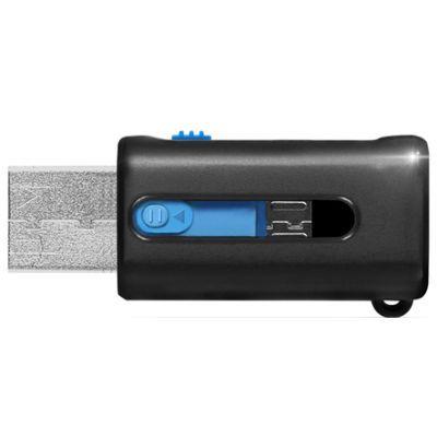 ����� ������ ADATA 16GB microSDHC Class 10 UHS-I (OTG/USB Reader) AUSDH16GUICL10-ROTGMBK