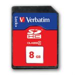 Карта памяти Verbatim 8GB SDHC Class 4 44018