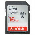 ����� ������ SanDisk 16GB SDHC Class 10 UHS-I Ultra 40MB/s SDSDUN-016G-G46
