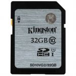 Карта памяти Kingston 32GB SDHC Class 10 UHS-I SD10VG2/32GB