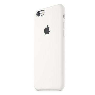 Чехол Apple iPhone 6/6s Silicone Case - White MKY12ZM/A