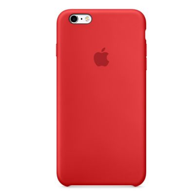 Чехол Apple iPhone 6/6s Silicone Case - RED MKY32ZM/A